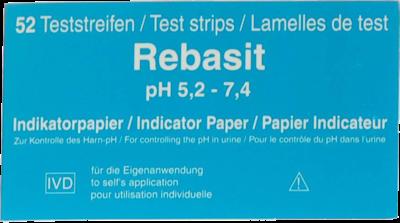 Rebasit Indikatorpapier (PZN 03434331)