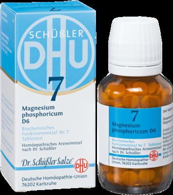 Biochemie 7 Magnesium Phosphoricum D 6 Tabl. (PZN 00274364)