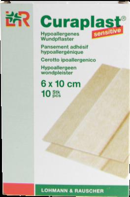 Curaplast Wundschnellverb.sensitiv 6x10 cm 1m (PZN 06980100)