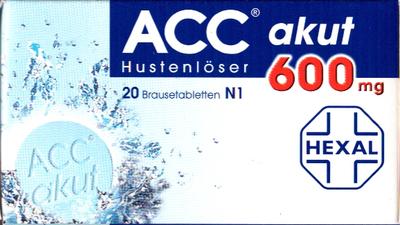 Acc Akut 600 Brausetabl. (PZN 00010808)
