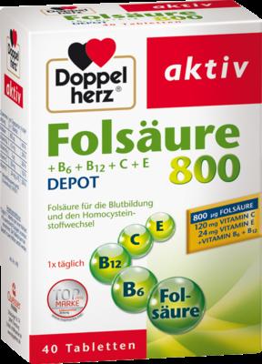Doppelherz Folsäure 800+B-Vitamine (PZN 06634384)