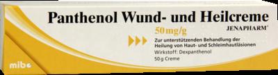 Panthenol Wund- und Heilcreme Jenapharm (PZN 08814535)