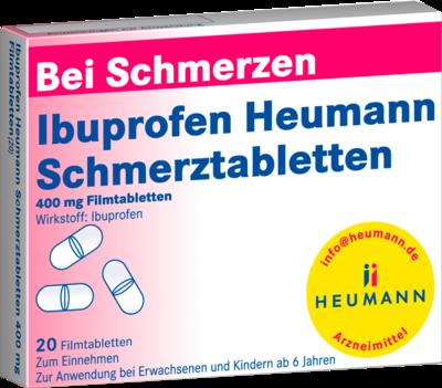 Ibuprofen Heumann Schmerztabl. 400 Mg (PZN 00040554)
