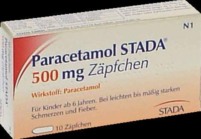 Paracetamol Stada 500 Kindersuppos. (PZN 03798441)