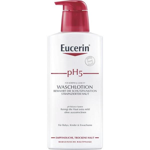 Eucerin pH5 Waschlotion mit Pumpe Empfindliche Haut (PZN 13889222)