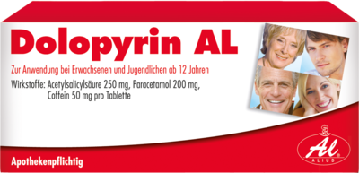 Dolopyrin Al Tabl. (PZN 00190791)