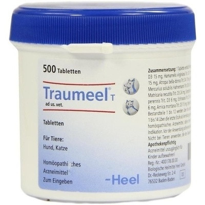 Traumeel T Tabl. Vet. (PZN 04055647)