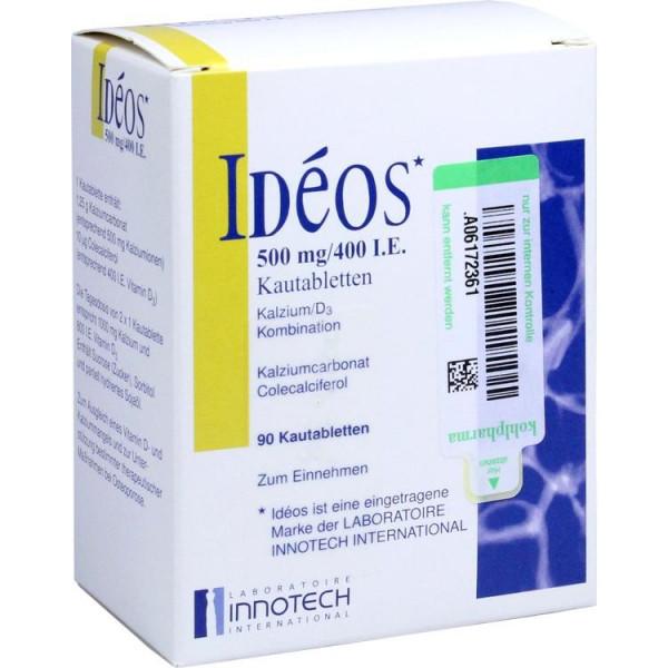 Ideos 500mg/400i.E. (PZN 11150760)