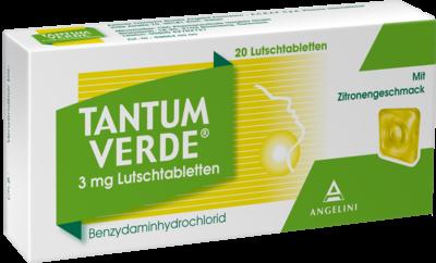 Tantum Verde 3 Mg mit Zitronengeschmack Lutschtab. (PZN 03335540)
