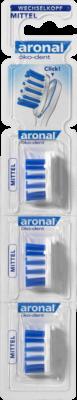 Aronal Oeko Dent Wechselkoepfe Kompakt Mittel (PZN 04945370)