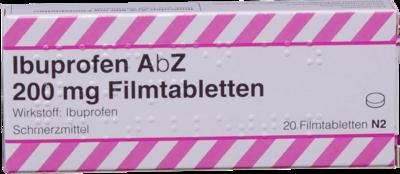 Ibuprofen Abz 200 Mg Filmtabl. (PZN 01016049)