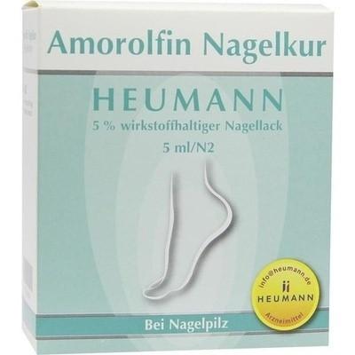 Amorolfin Nagelkur Heumann 5% Wirkstoffh.nagellack (PZN 09296203)