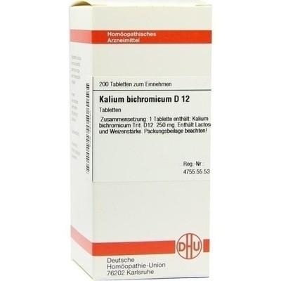 Kalium Bichromicum D 12 (PZN 02812340)