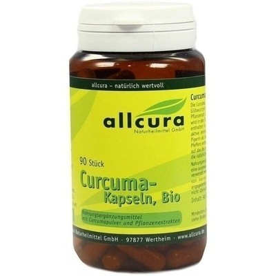 Curcuma Kapseln Bio (PZN 00321543)
