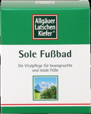 Allgäuer Latschenkiefer Sole Fußbad 10x10g (PZN 01986492)