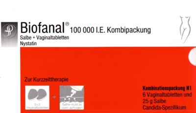 Biofanal Kombipackung  25g  + 6vagigal (PZN 06179974)
