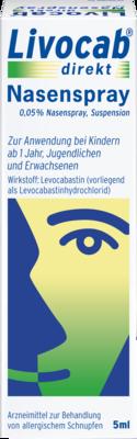 Livocab Direkt Nasenspray (PZN 00202465)