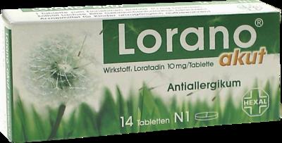 Lorano akut (PZN 01691621)