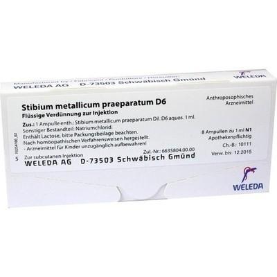 Stibium Met. Praeparatum D 6 Amp. (PZN 01626724)
