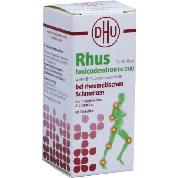 Rhus tox. D6 DHU bei rheumatischen Schmerzen (PZN 12608698)