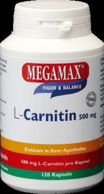L-carnitin 500 Mg Megamax (PZN 07307204)