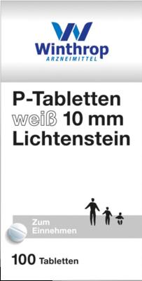 P Tabletten Weiss 10mm Li (PZN 04997450)
