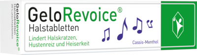 Gelorevoice Halstabletten Cassis Menthol Lutschtabl (PZN 08846050)
