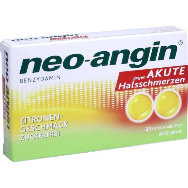 neo-angin Benzydamin akute Halsschmerz Zitrone (PZN 11160178)