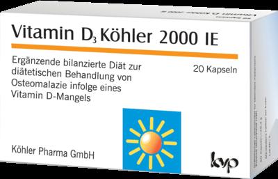 Vitamin D3 Köhler 2.000ie (PZN 10005079)