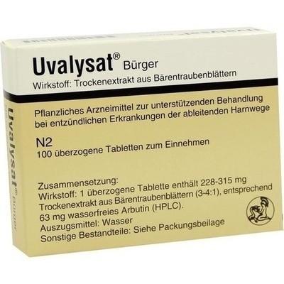Uvalysat Buerger Drag. (PZN 01095824)