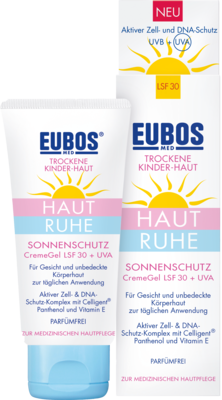 Eubos Kinder Haut Ruhe Sonnensch.cr.gel Lsf 30+uva (PZN 10395821)