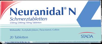 paracetamol coffein