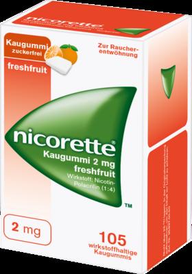 Nicorette 2 Mg Freshfruit (PZN 01639595)