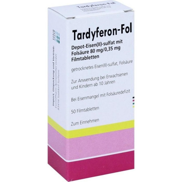 Tardyferon Fol Dep Eisen (PZN 10708929)
