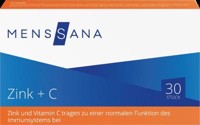 Zink + C Menssana (PZN 09486300)