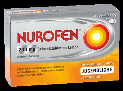 Nurofen 200 mg Schmelztabletten Lemon (PZN 11550548)