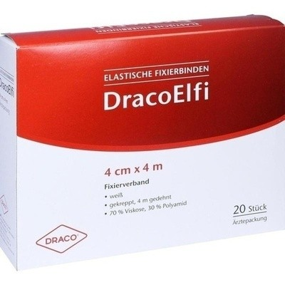 Dracoelfi Elast.fixierbinde 4cmx4m Gekreppt (PZN 00736267)